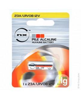 Pile Alcaline LRV08 ou 23A 12 V 55mAh