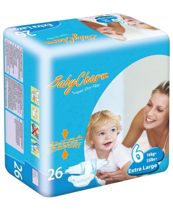 Couche T6 +35 kg baby charm
