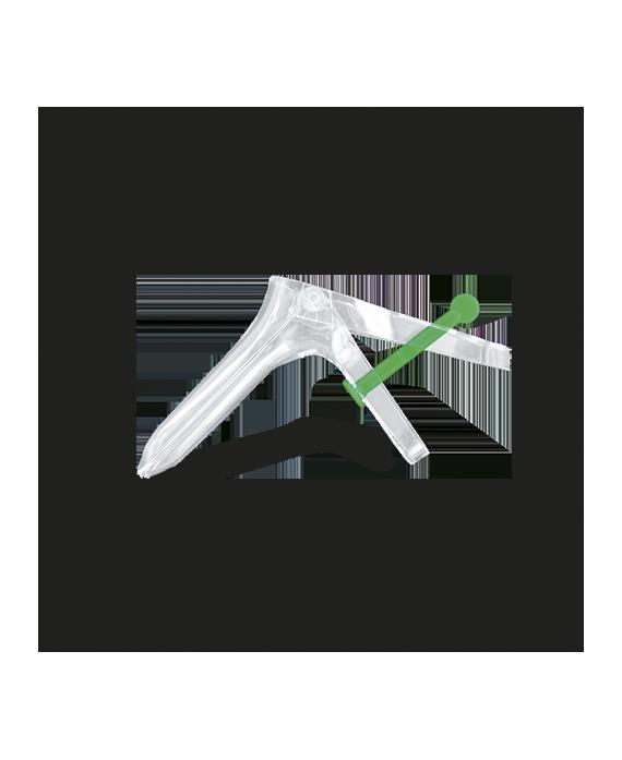 Spéculum vaginal U.U. large (vert)